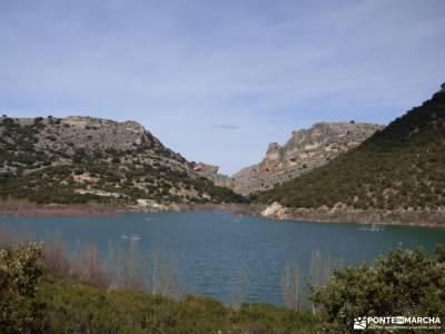 Río Salado-Salinas Imón-El Atance;el rio manzanares valle del silencio cerezo en flor los picos de
